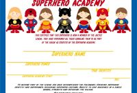 Preschool Graduation Certificate Template Free Awesome Free Printable Superhero Masks Ceiling the Backdrop Of the