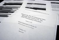 Private Investigator Surveillance Report Template Awesome Factcheck What the Mueller Report Says About Russian Contacts