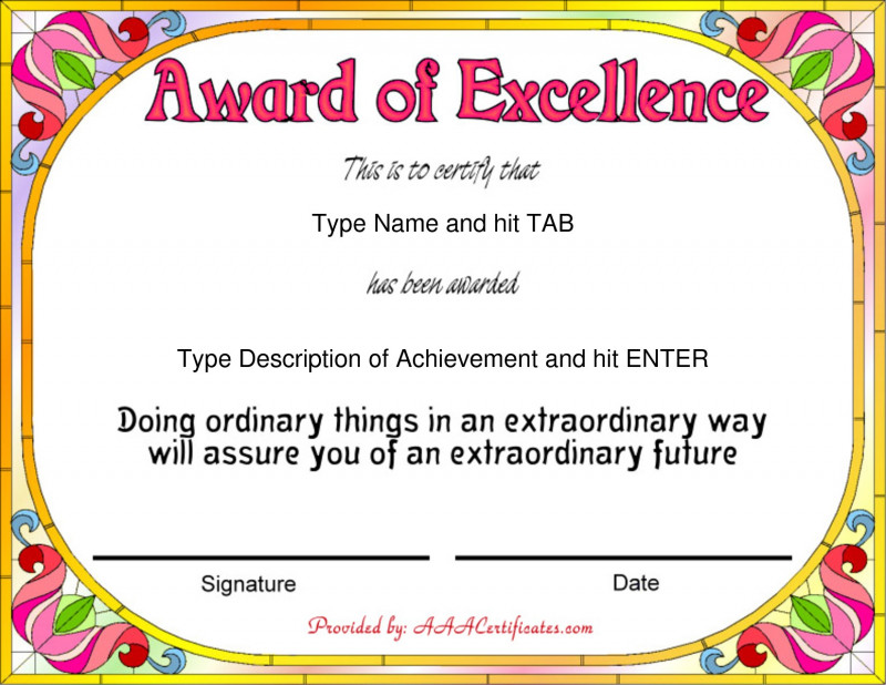 Professional Award Certificate Template New Free Award Certificate Template Word Sazak Mouldings Co