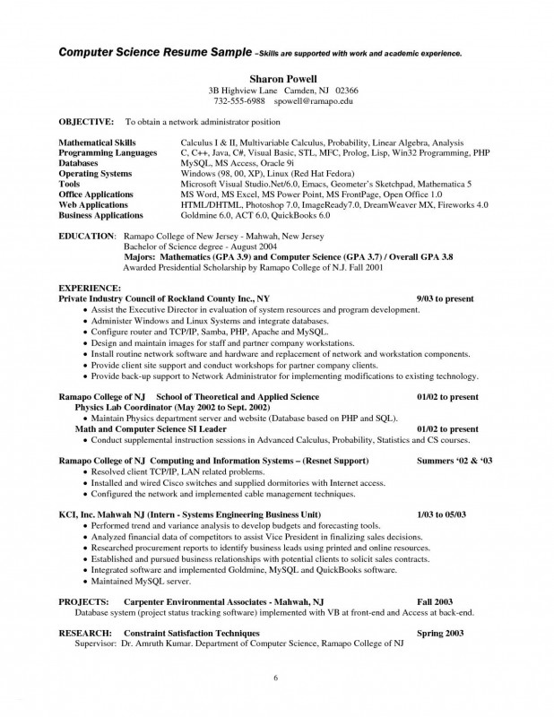 Project Report Template Latex Awesome Fearsome Computer Science Resume Template Ideas Doc Word Nouberoakland