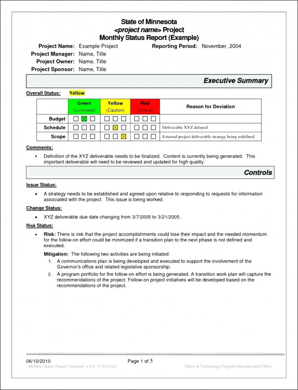 Project Status Report Template In Excel Professional Free Project Management Report Template Status Tasks System Process