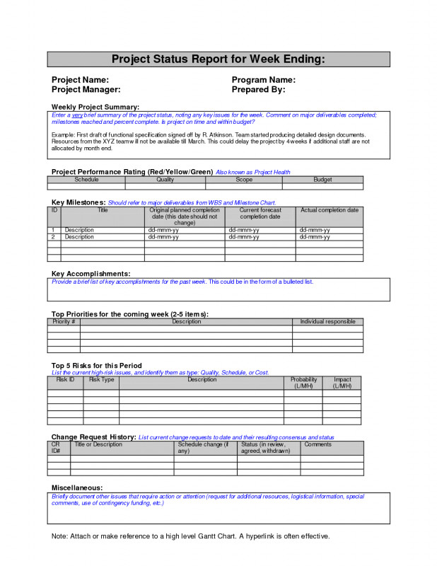 Project Status Report Template Word 2010 Awesome Sample Project Status Report Excel Management Template Email Simple