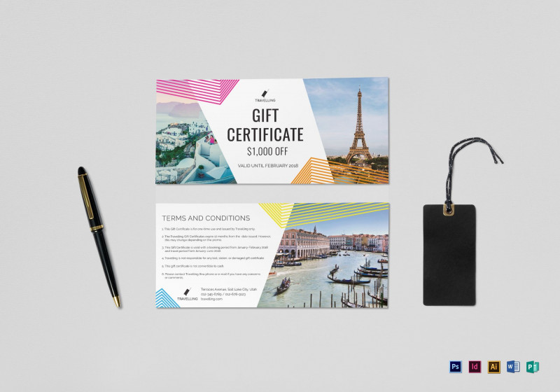 Publisher Gift Certificate Template Unique Gift Certificate Template Ai Brochure Templates Airplane Flight