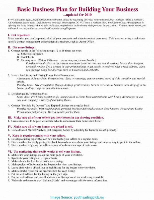 Real Estate Report Template New 042 Real Estate Investment Partnership Business Plan Template