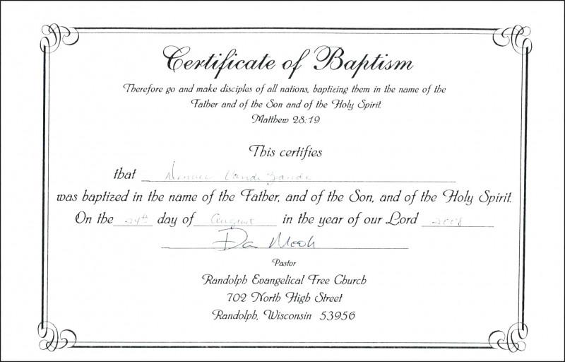 Roman Catholic Baptism Certificate Template New Baptismal Certificate Tubidportal Com