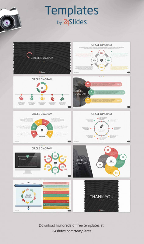 Sales Call Report Template Free Professional 15 Fun And Colorful Free Powerpoint Templates Present Better