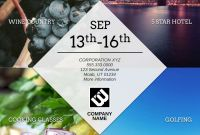 Save the Date Banner Template Awesome Free Poster Templates Examples 15 Free Templates