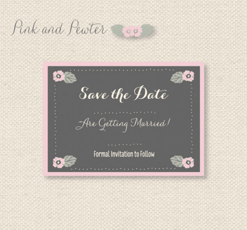 Save the Date Banner Template New 11 Free Save the Date Templates