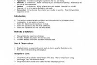 Science Experiment Report Template Awesome 007 Science Lab Report Template Fearsome Ideas Example Grade 7