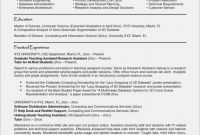 Science Experiment Report Template Unique Sample Resume Information Technology assistant for Examples Elegant