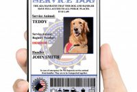 Service Dog Certificate Template New Free Dog Birth Certificate Fabulous Free Puppy Birth Certificate