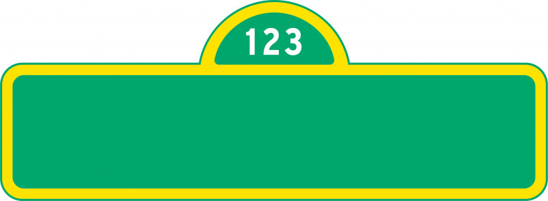Sesame Street Banner Template Awesome Sesame Street Logos