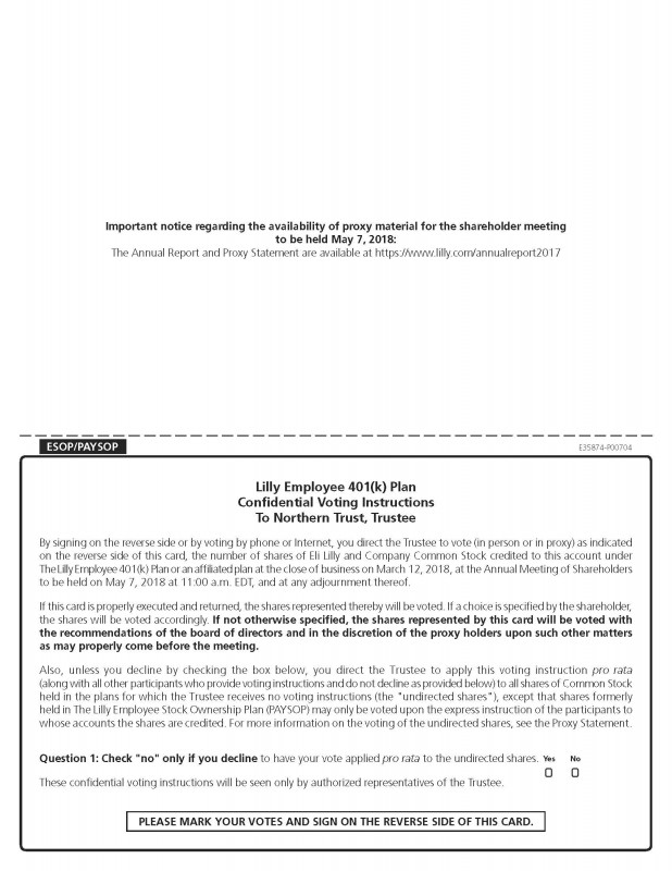 Share Certificate Template Companies House Awesome Sec Filing Eli Lilly and Company