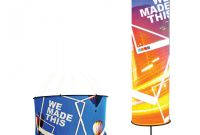 Sharkfin Banner Template New Outdoor event Displays Expandabrand atlanta Ga