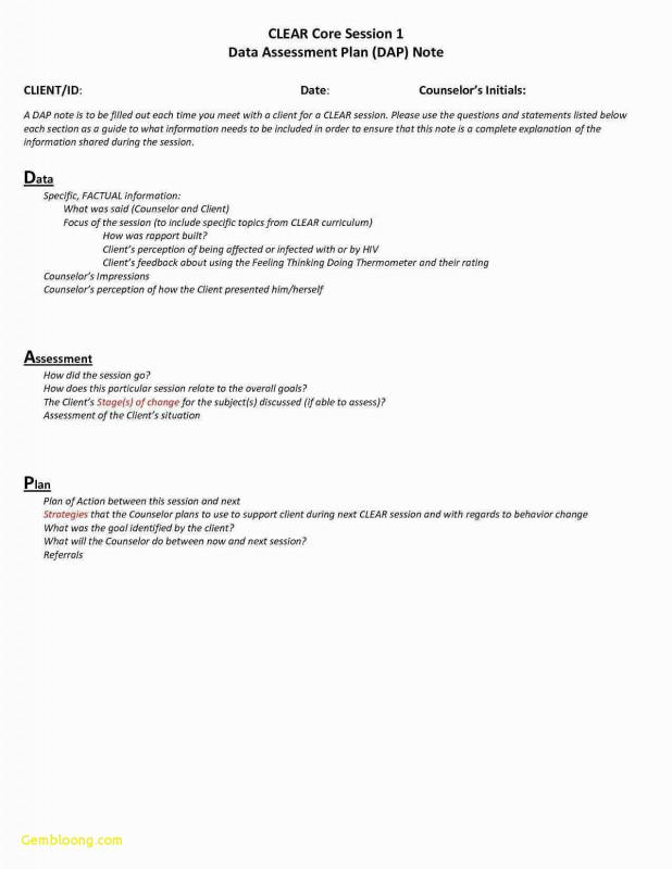Soap Report Template Unique Progress Notes Template Forolab4 Co