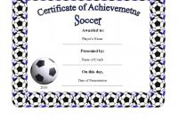 Soccer Award Certificate Template Awesome soccer Award Certificate Templates Sazak Mouldings Co