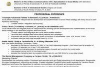 Social Media Marketing Report Template Professional 49 Example Social Media Manager Job Description Template All About