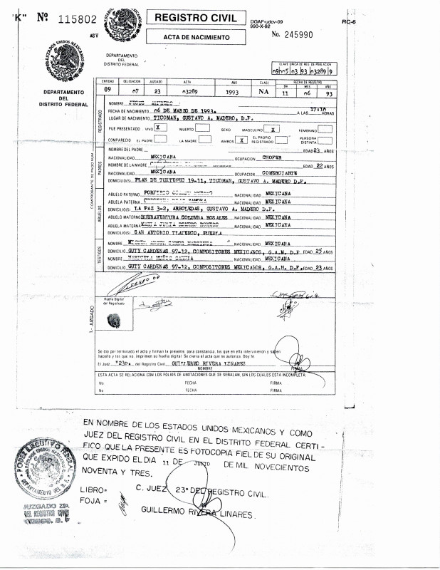 Spanish To English Birth Certificate Translation Template New 25 A‰lagant Images De Birth Certificate Translation Template Spanish