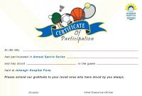 Sports Day Certificate Templates Free New athletic Certificate Template Brochure Templates Sports Vector Psd