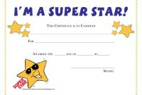 Star Certificate Templates Free New Leadership Certificate Template Free Best Of Design Student