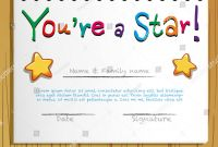 Star Of The Week Certificate Template Awesome Great Star Of The Week Certificate Template Pictures Star Of The