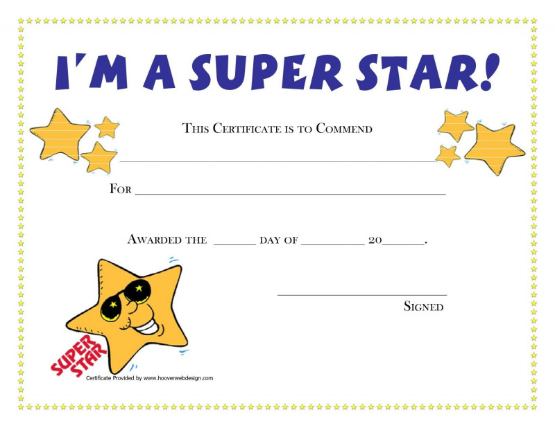 Star Performer Certificate Templates Unique Leadership Certificate Template Free Best Of Design Student