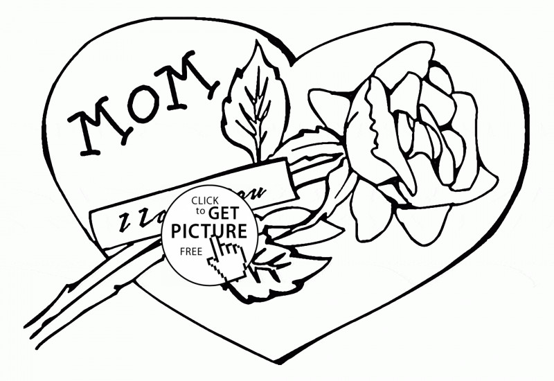 Summer Camp Certificate Template Awesome A Mothers Love Coloring Page Printable Mother S Day Certificate
