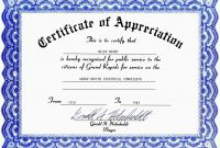 Template for Certificate Of Appreciation In Microsoft Word Awesome Appreciation Letter format for Employees with Certificate Maker Plus