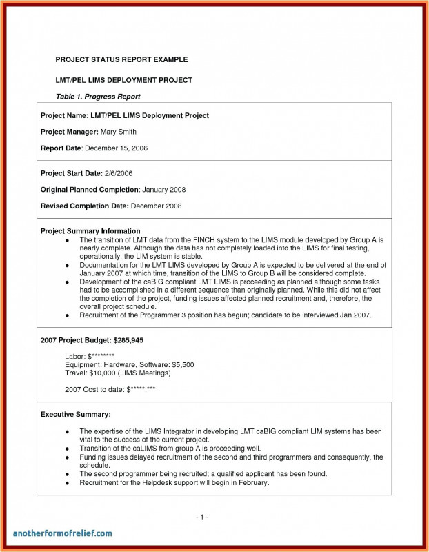 Template For Summary Report New 95 Summary Example For A Resume Resume Samples For Every Job