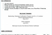 Template for Training Certificate New Environmental Services Job Description Resume Examples Free Job