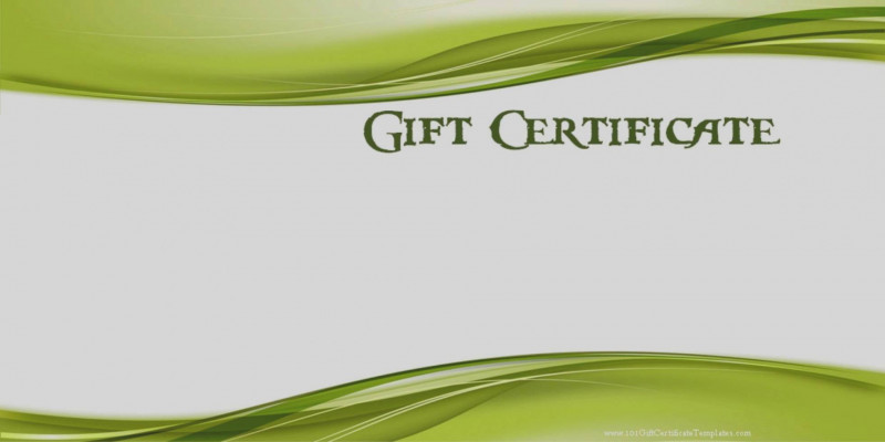 This Certificate Entitles The Bearer To Template New 35 Golf Gift Certificate Template Printable Golf Gift Example