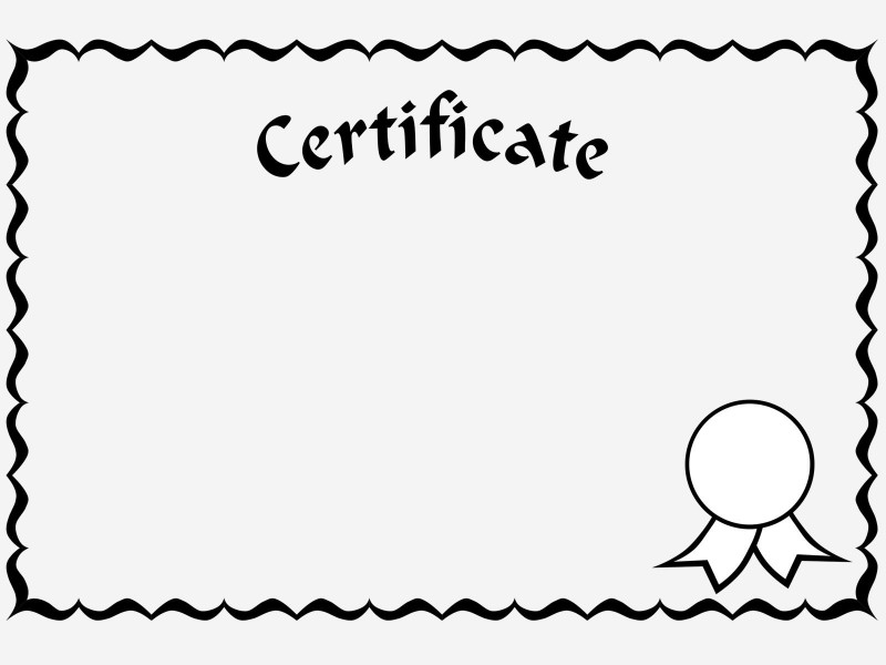 Toy Adoption Certificate Template Unique 13 Certificate Template Clipart Simple Free Clip Art Stock