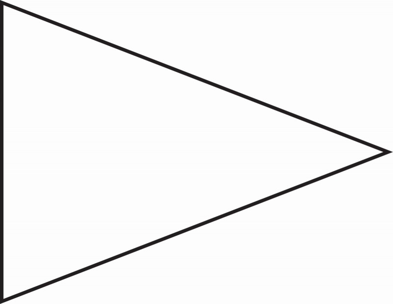 Triangle Banner Template Free New Triangle Banner Template Unique Printable Pennant Banner Template