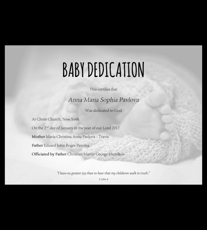Walking Certificate Templates Awesome Marvelous Baby Dedication Certificate Template Ideas Nouberoakland
