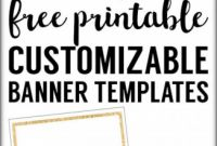 Website Banner Templates Free Download New 013 Free Printable Banner Templates Blank Banners Web Download