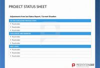 Weekly Manager Report Template Awesome Status Report Template Ppt Weekly Status Report Template Fresh
