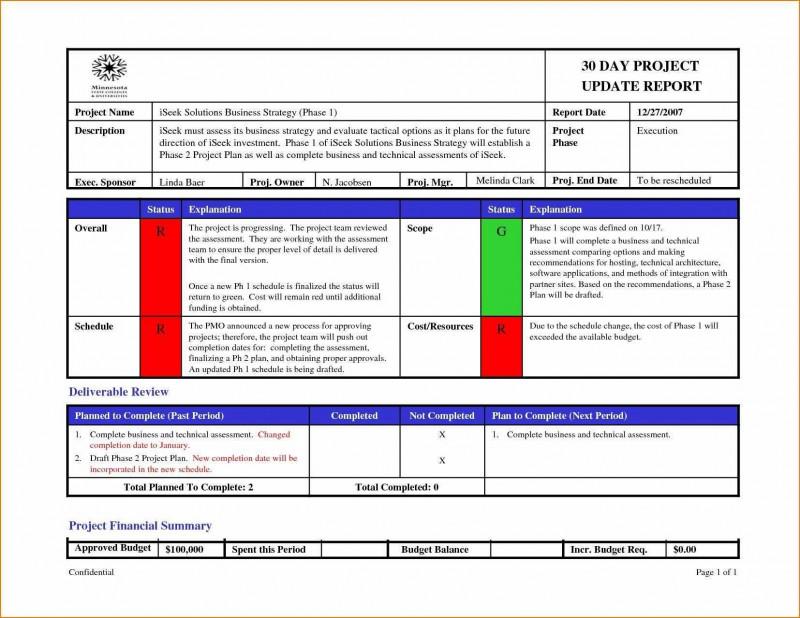 Weekly Status Report Template Excel New Weekly Project Status Report Sample Excel Simple Template Smorad