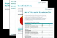 Wrap Up Report Template Awesome Remediation Instructions by Severity Report Sc Report Template