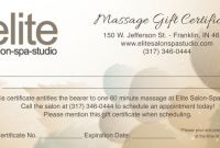 Yoga Gift Certificate Template Free Unique Collection Of Free Printable Massage Gift Certificate Templates 33