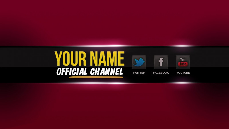 Youtube Banners Template New Free Banner Template Photoshop Inspirational Design Free Youtube