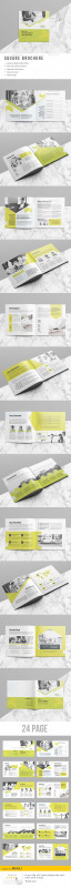 12 Page Brochure Template New Brochure Template Indesign Indd 24 Pages Design Inspo Disea±o