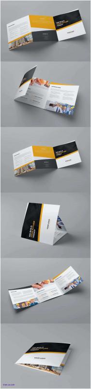 3 Fold Brochure Template Free Best Impressionnant Cool Brochure Templates Hexagon Corporate Tri Fold
