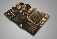 3 Fold Brochure Template Psd Free Download New Construction Tri Fold Brochure Brochure Templates Creative Market