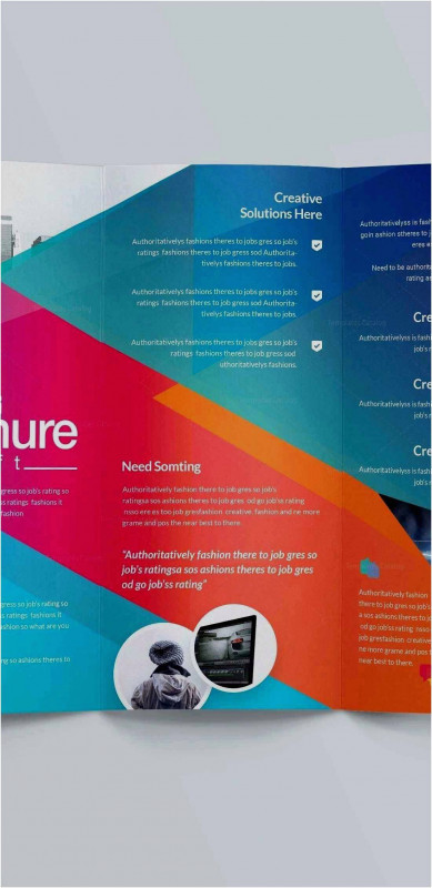 4 Panel Brochure Template Awesome 2 Fold Brochure Template Free Download Free Collection 55 Tri Fold