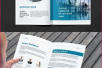 6 Panel Brochure Template Awesome Plakat Layout Vorlage Plakat Layout Vorlagen Blue Business Brochure