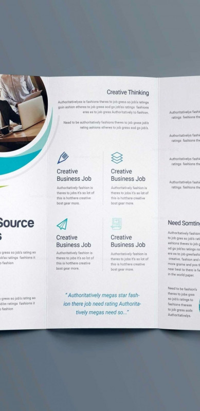 6 Panel Brochure Template Best Adobe Illustrator Flyer Templates Lera Mera