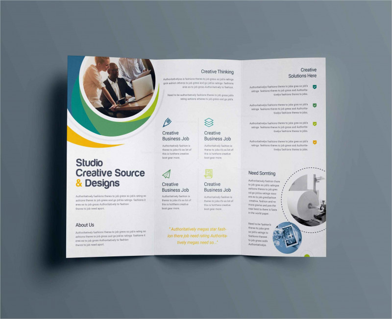 8.5 X11 Brochure Template Awesome Template Collection Leaflet Template Greenfishings Com