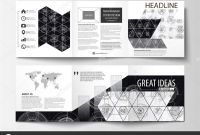 Adobe Illustrator Brochure Templates Free Download Awesome Business Templates for Square Tri Fold Brochures Leaflet Cover