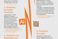 Adobe Illustrator Brochure Templates Free Download Awesome Illustrator Flyer Templates Fresh Brochure Template Design with