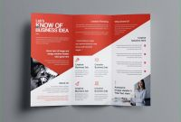Adobe Illustrator Tri Fold Brochure Template New Two Sided Brochure Template Aphrodite Business Tri Fold Brochure